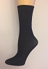 Man (Unisex) X-Long Try on Socks - BLACK - (48 Socks / Box)